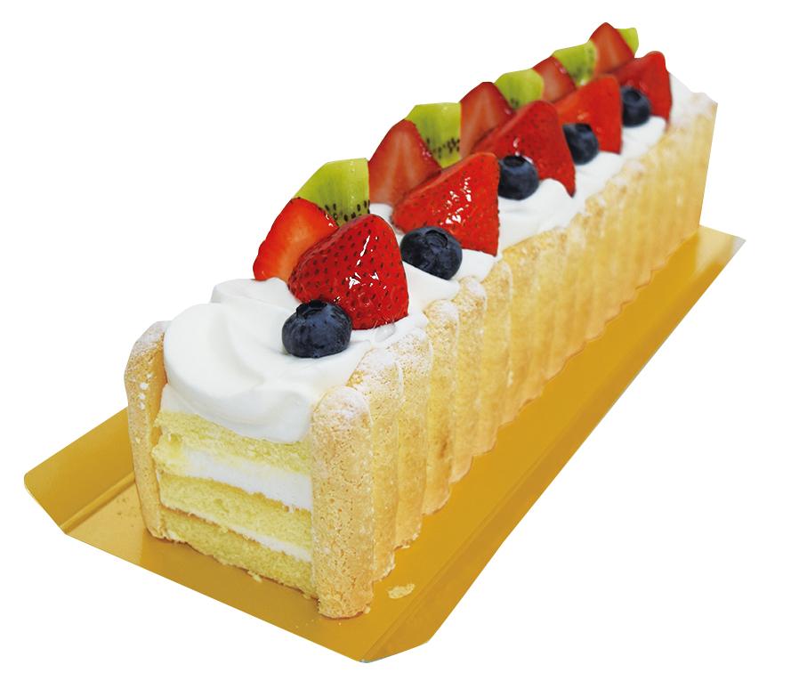 トラントケーキ(フルーツ)¥2,500(本体価格)