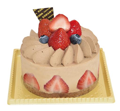 ショコラ・フレーズ4号¥2,500(本体価格)