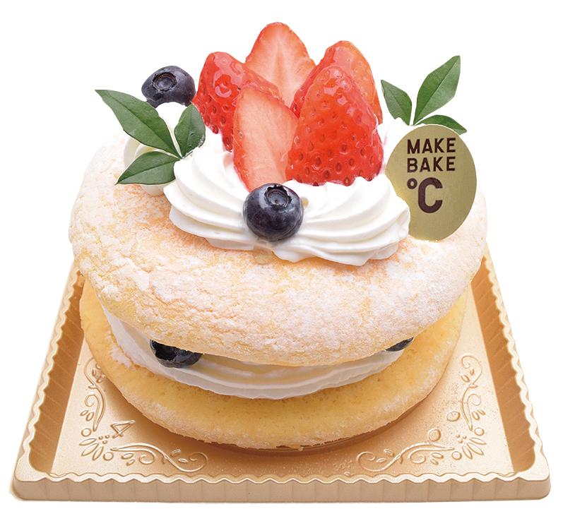 アメリカンショートケーキ 12cm¥1,200(本体価格)