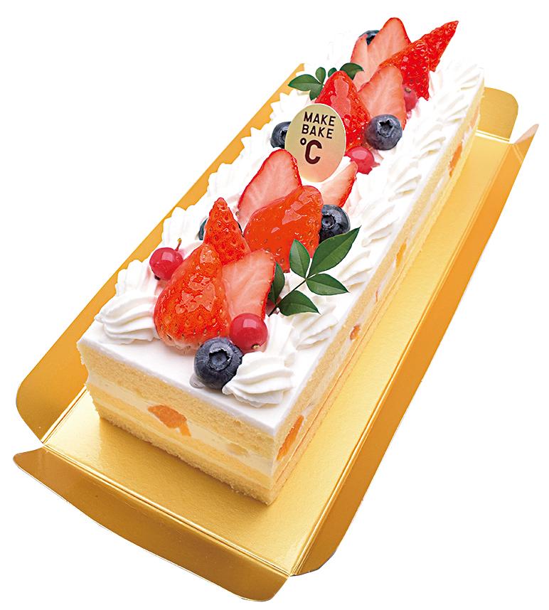 BOXケーキ フレジェ 22cm¥2,400(本体価格)