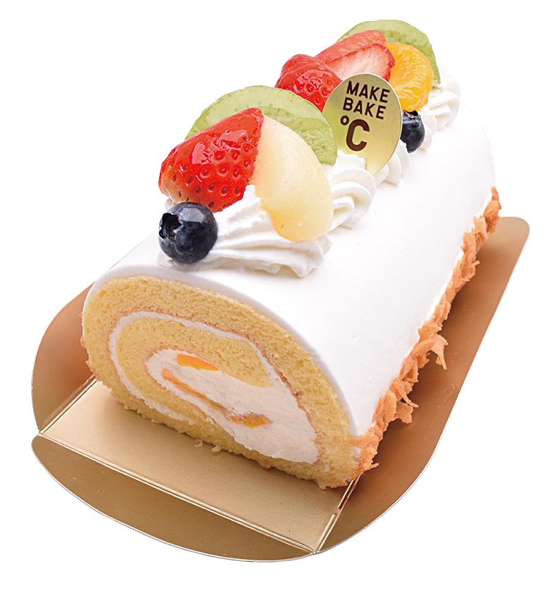 フルーツのロールケーキ¥1,800(本体価格)