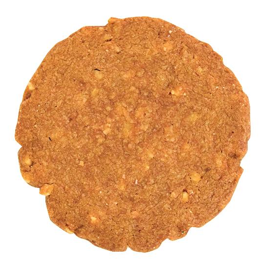 キャラメルとナッツのクッキー¥110(本体価格)