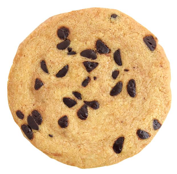 チョコチップのクッキー¥110(本体価格)