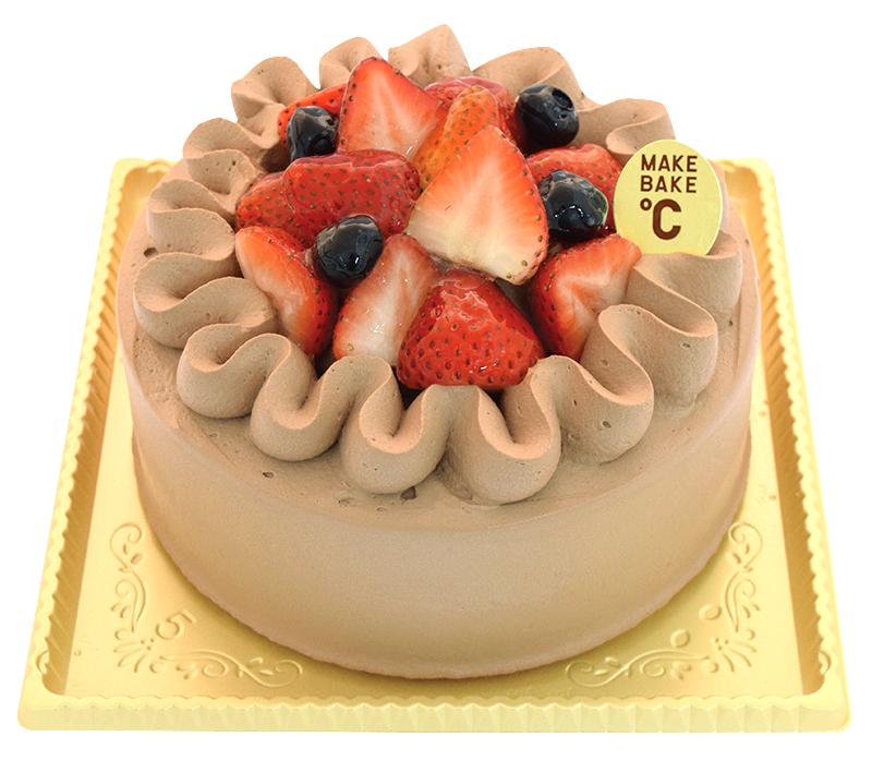 苺のデコレーションショコラケーキ 15cm¥2,900(本体価格)