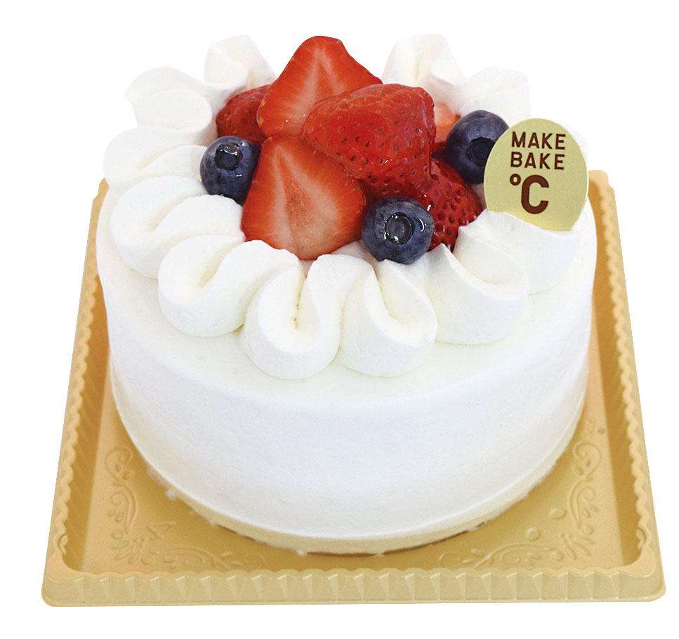 苺のデコレーションケーキ 12cm¥2,200(本体価格)