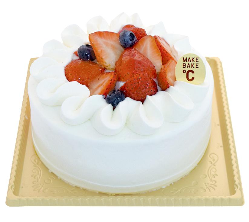 苺のデコレーションケーキ 15cm¥2,800(本体価格)