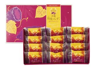 沖縄 島果のしずく(紅芋フィナンシェ)12個入¥1,100(本体価格)
