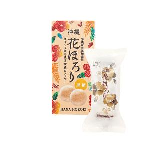 花ほろり 黒糖 4粒1袋入 ¥432 (税込価格)